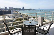 Balcony at Tiks condo Pattaya